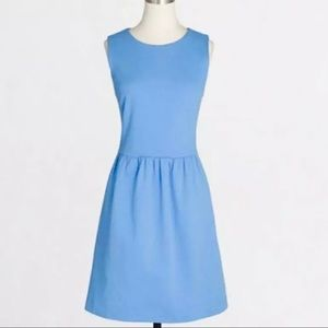 J.Crew Blue Daybreak Dress Fit and Flare Pinup
